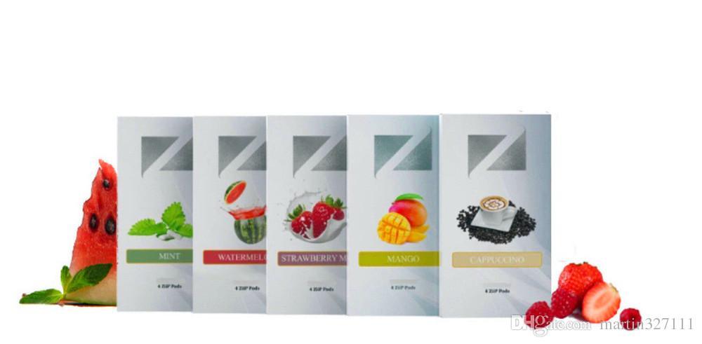 ziip pod flavors
