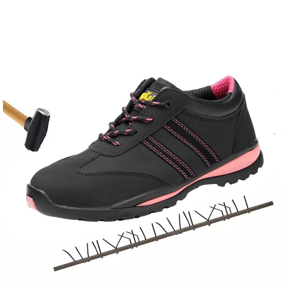 a6e18428984 Compre Zapatos De Seguridad Laboral Para Mujeres Calzado Para Mujer Al Aire  Libre Con Aislamiento Impermeable 6KV Botines Calzados Indestructibles ...