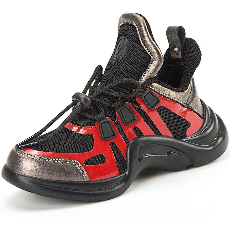 High Corsa Per Marca Passeggio Ragazze Sole Autunno Sneakers Ragazzi Bambini Spessore Top Unisex Studente Camminare Cool Da Scarpe OkuwPXTliZ
