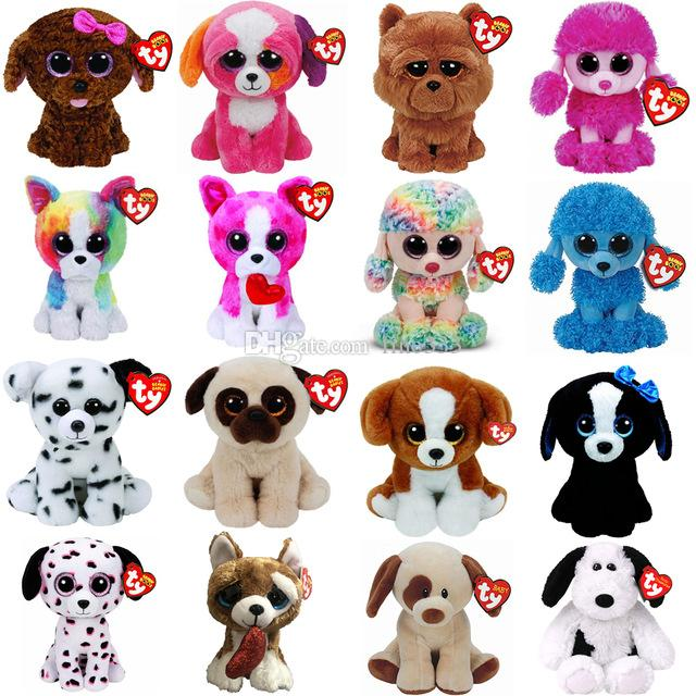 6a4257b94d0 2019 Pyoopeo Ty Beanie Boos 6 15cm Dog Patsy Mandy Maddie Spencer Tracey  Smootches Precious Bumpkin Plush Stuffed Animal Doll Toy From Fine333