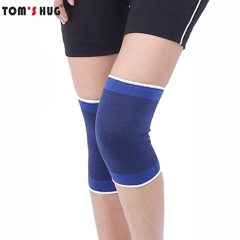 1 Pcs High Elastic Knee Sleeve Support Protector Sport Kneepad Toms Hug Fitness Running Cycling Braces Gym Knee Pad Warm Fitness & Body Building