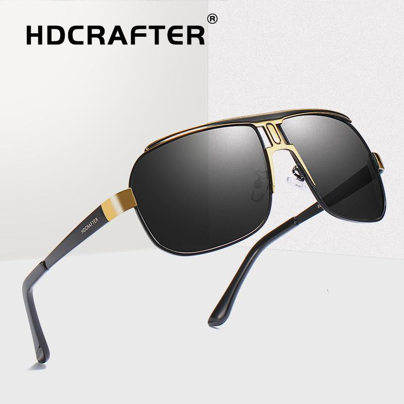 3afd451889c5f Sunglasses Men Polarized Driving Pilot Sunglasses Man Eyewear Sun ...