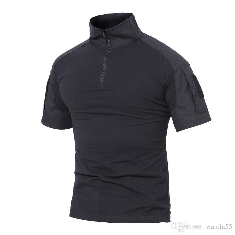 Sports & Entertainment Fg Au Tactical Camo Combat Shirt Perspiration T-shirt Short Sleeve Tops Summer Hiking T-shirts