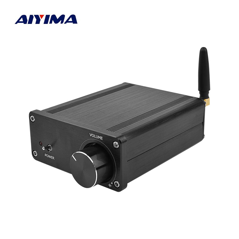 AIYIMA Mini TPA3116 Bluetooth 5 0 Amplifier Stereo Class D HIFI Digital  Power Amplifier AMP 50Wx2 DAC PCM5100 Home Sound Theater