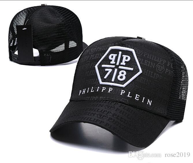 81cea2b92e0 New Designer PP Skull Caps Casquette De Baseball Cap Gorras Fashion ...