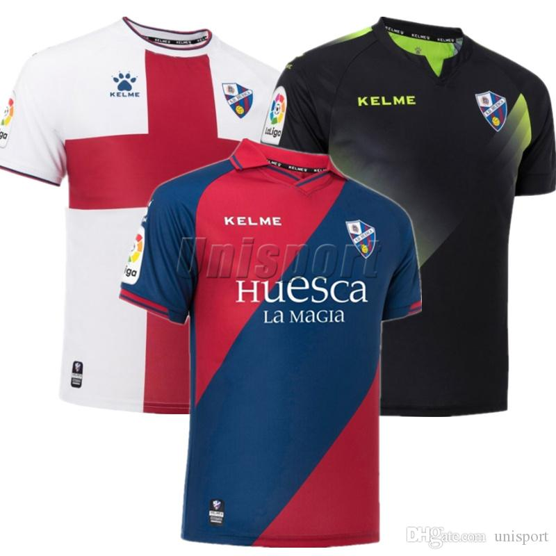 2018 19 SD Huesca Soccer Jerseys Alex Gallery Cucho Futbol Camisetas ... d6ddb9d26a057