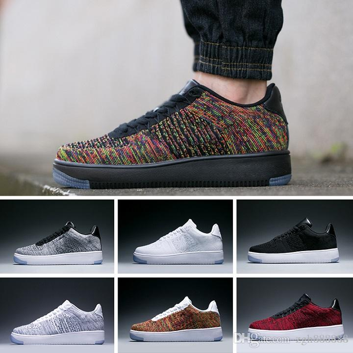 e63dd9701c 2017 New Style Fly Line Men Women High Low Lover Skateboard Shoes 1 One Knit  Eur Size 40 45 Mesh Shoe Boots Fashion Shoes From Zgh888888