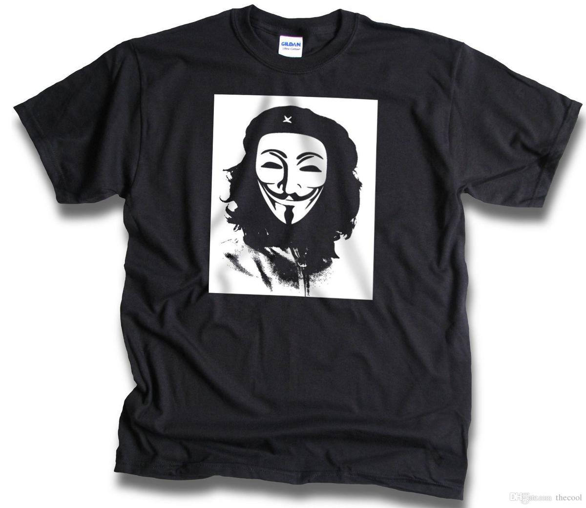 100% Baumwolle V Für Vendetta Sommer Männer T Shirt Film Hüfte Hop Oansatz Kurzarm Shirt Casual Fashion Top Tees Coole Mode Schmuck & Zubehör