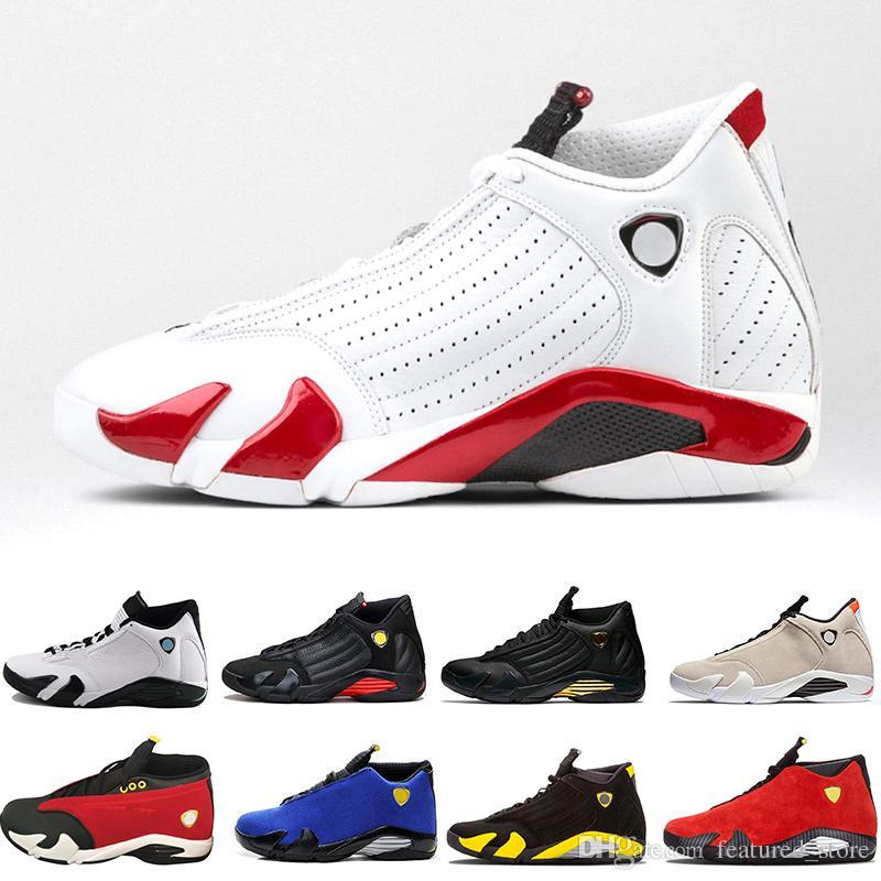 5d0c9d4f8429 Rip Hamilton 14 XIV Basketball Shoes Men Fusion Purple Last Shot Black  Fusion Varsity Red 14s XIV Playoffs Sneakers Eur Size 41 47 Jordans Sneakers  Sneakers ...
