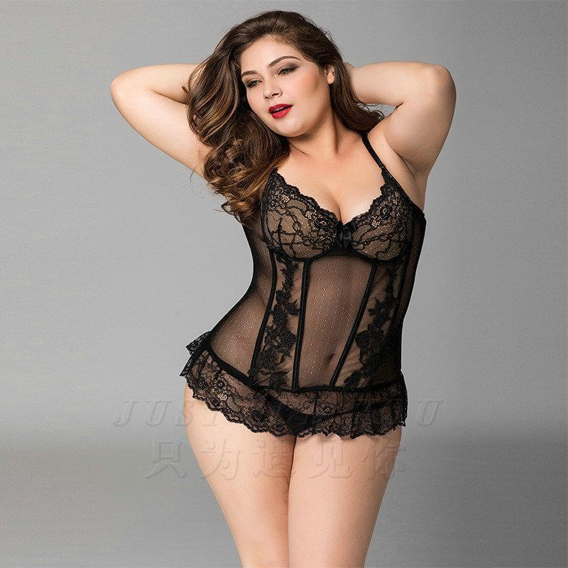 99904eed30 2019 Plus Size Women Corset Design Sexy Lingerie Hot Erotic Bodystocking  Porno Sexy Costumes Lenceria Halloween Mesh Bodysuits P71137 From Kaway