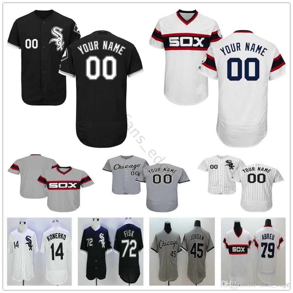 6ccba3261 Custom Chicago White Sox 51 Carson Fulmer 74 Eloy Jimenez 35 Frank Thomas  46 Ivan Nova Jackie Robinson Men Women Kids Youth Baseball Jerseys UK 2019  From ...