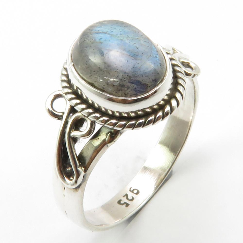 0826a603d Wedding Handcrafted Jewelry Silver Labradorite Ring Size 6 Unique Designed  Cheap Engagement Rings Mens Wedding Rings From Nothing2, $23.98| DHgate.Com