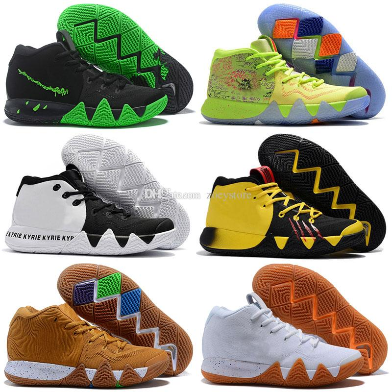 the latest 34e50 c29b9 4s Kyrie IV Lucky Charms Mens Outdoor Shoes Irving 4 Confetti BHM EQUALITY  All-Star March Madness City Guardians London Mamba Sneakers