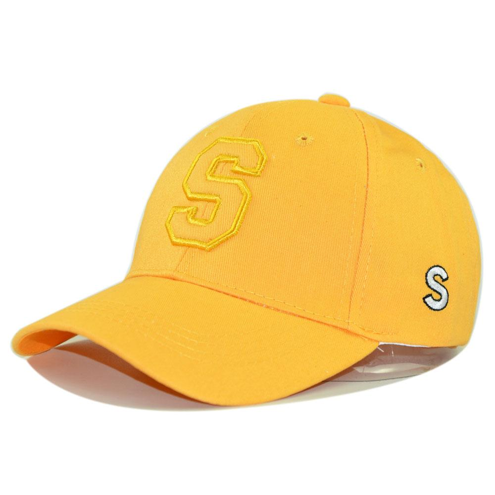 2265a4a2f5c75d Kids Baseball Cap School Student Casual Cotton Solid Summer Cap For Boys  And Girls 2 8 Years Adjustable Outdoor Anti UV Sun Hat Ny Caps Ball Cap  From ...