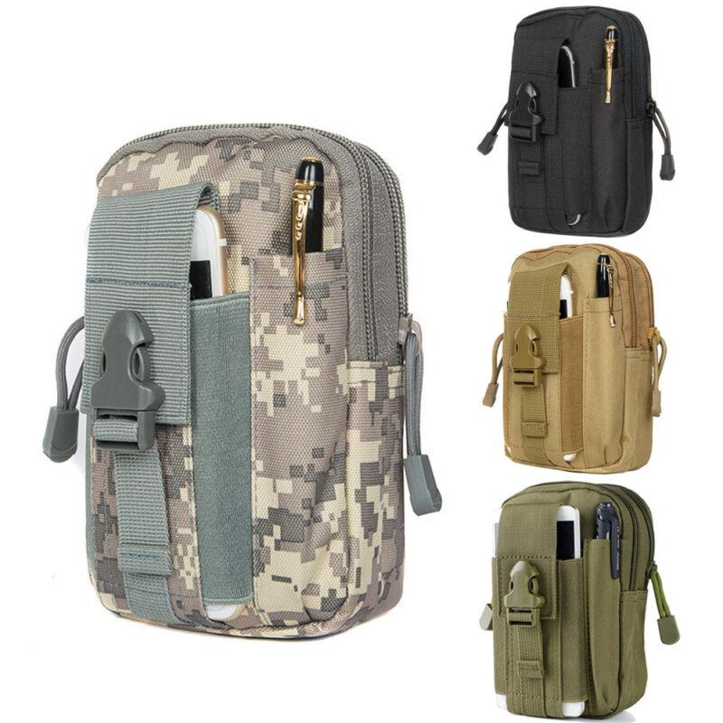 Tactical Molle Pouch Handbags Belt Waist Backpack Military Fanny School bag Pack