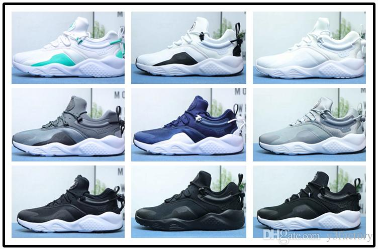 571f43c4b0d0 8 Huarache VIII Running Shoes 2019 Men Soft Sneaker Adults Newest  Adjustable Shoelace Sports Shoe Activity Shock Absorber High Quality US 11  Running Store ...