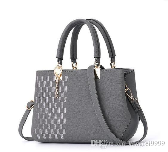wholesale Fashion Bag Women Shoulder Bag Female Causal Totes for Daily Shopping All-Purpose High Quality Dames Handbag