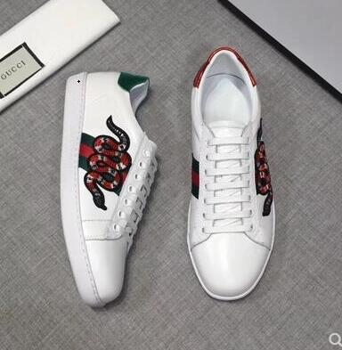 0fc991100 Designer Shoes ACE Luxury Embroidered White Tiger Bee Snake Shoes ...