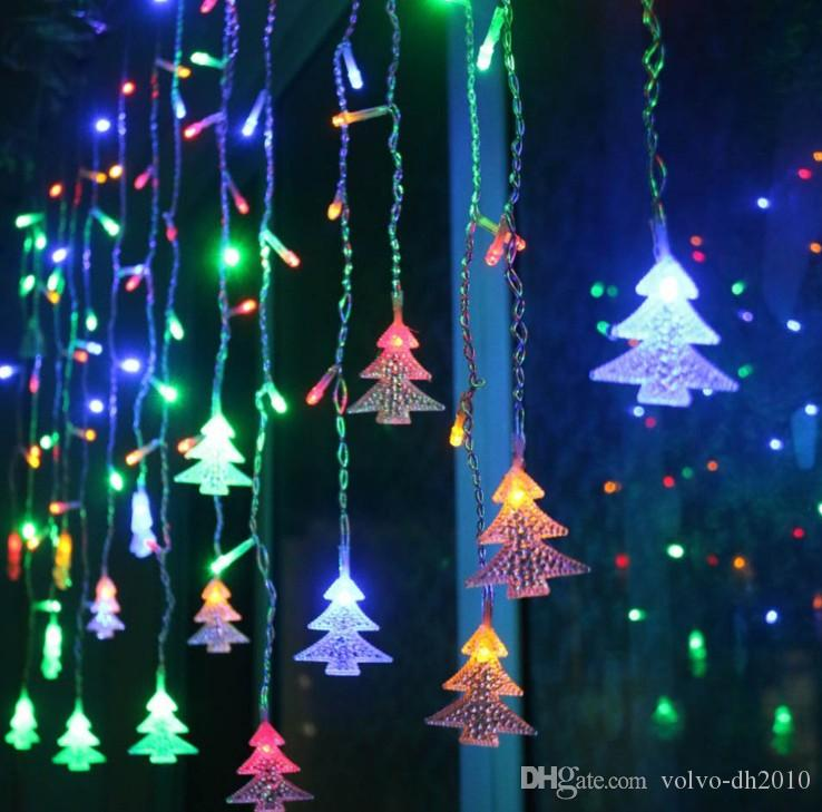 Fairy 1m 10led Fairy String Hanging Icicle Snowing Curtain