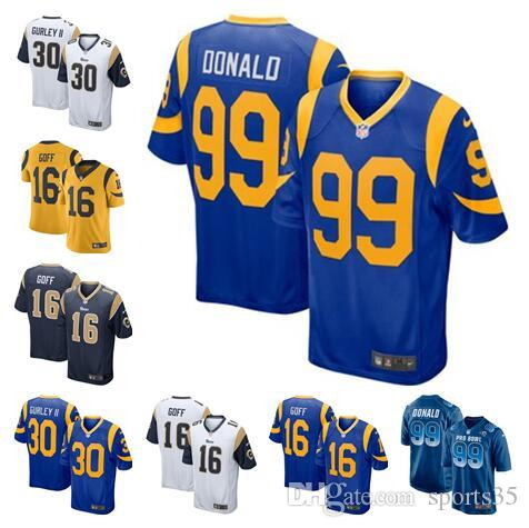 ce74a749f Todd Gurley II Rams Jersey Camo Salute To Service Jared Goff Aaron Donald  Cooper Kupp Custom American Football Jerseys Stitched Vapor 4xl UK 2019 From  Dh124 ...