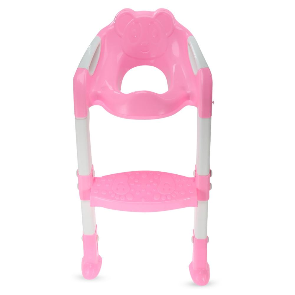 07c8ac0a78d 2019 Potties Seats Foldable Baby Potty Training Chair Adjustable Ladder  Children S Potty Baby Toilet Seat Infant Toilet Training Folding Seat.