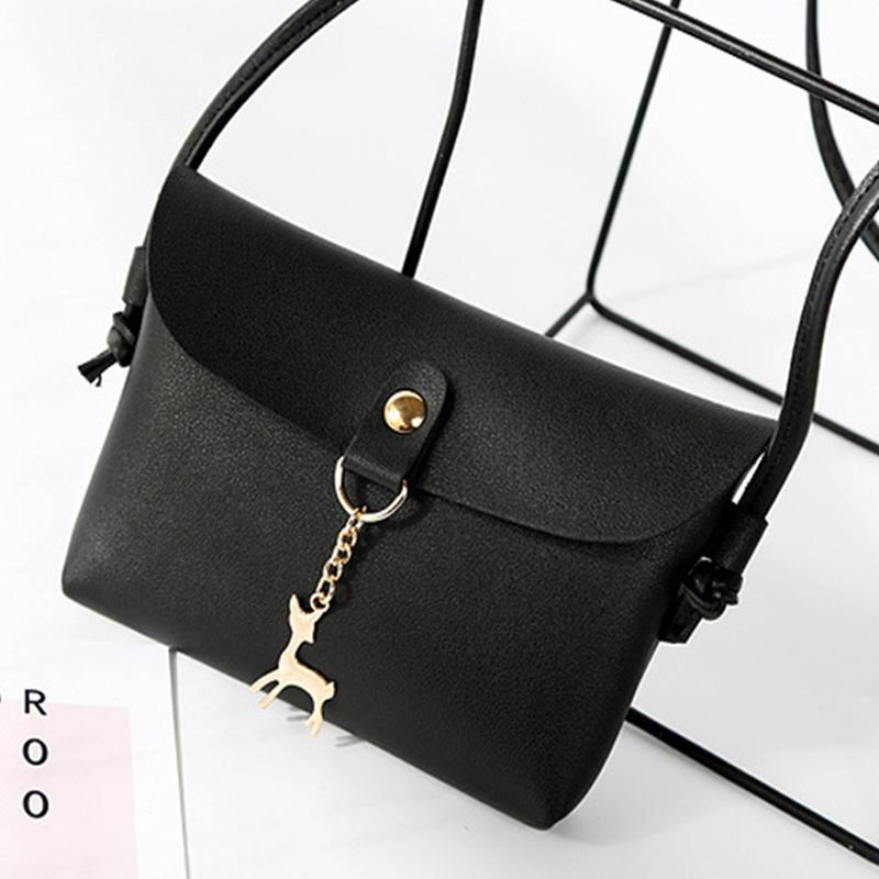 5f0934c6e1da Cheap Fashion Women S Vintage Messenger Bags 2019 Hot Women Small Deer Pendant  Leather Crossbody Daily Shoulder Bag Bolsa Feminina Gift Handbags For Women  ...