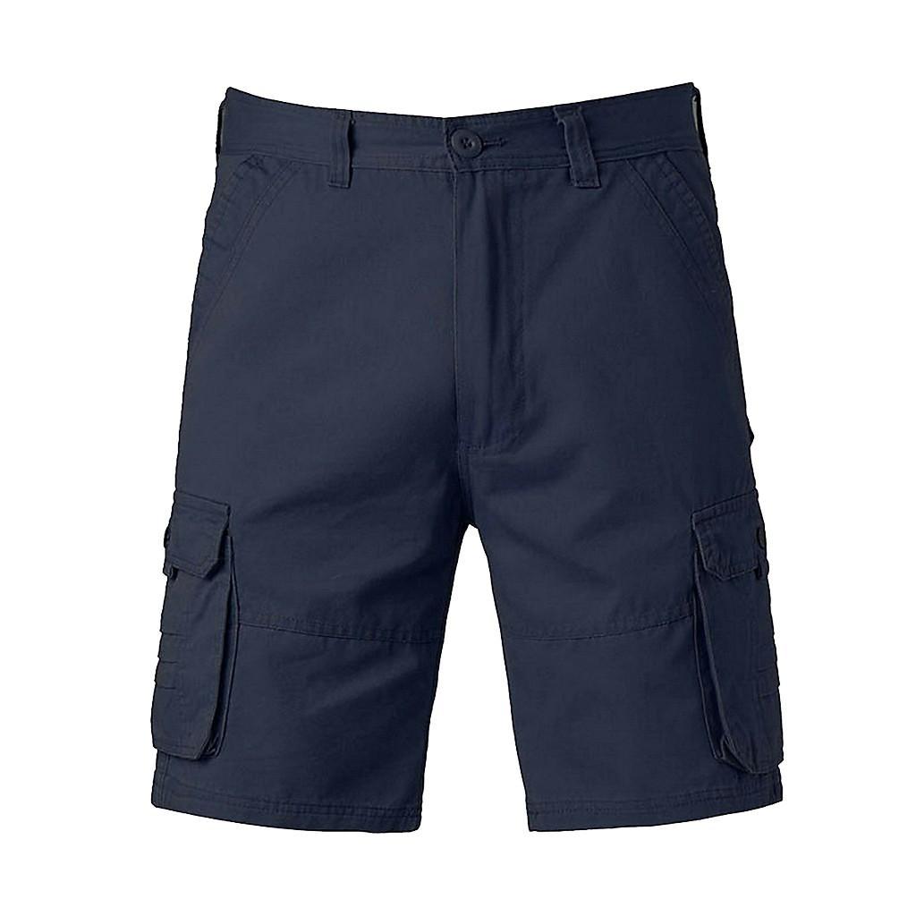 34aac44d6 Compre Pantalones Cortos De Hombre 2019 Moda Pantalones Cortos De Playa  Sólidos Hombres Casual Ejército Verde Pantalones Cortos Hombre Bermudas  Trajes De ...