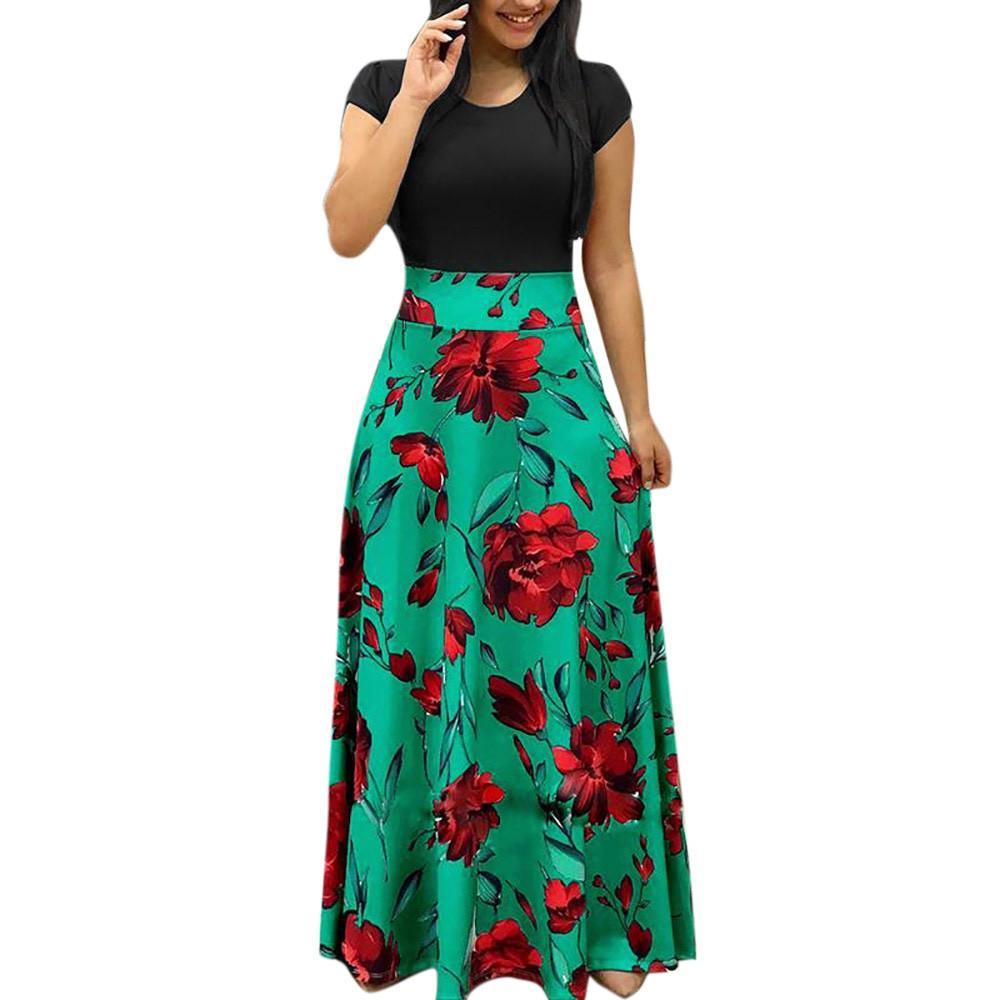 5fc3ae0f29719 Satın Al Sonbahar Bayanlar Boho Mini Elbiseler Kadın Vintage Çiçekli  Baskılı Plaj Parti Elbise Kızlar Uzun Kollu Casual Gevşek Elbiseler # 0116,  ...