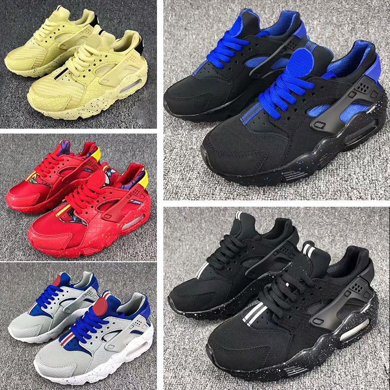 6da8d5a54838 2018 Fashion Flash Lighted Kids Air Huarache Children Running Shoes Infant  Huaraches Outdoor Toddler Athletic Boy   Girls Sneaker 26 35 Kids Sports  Shoe ...