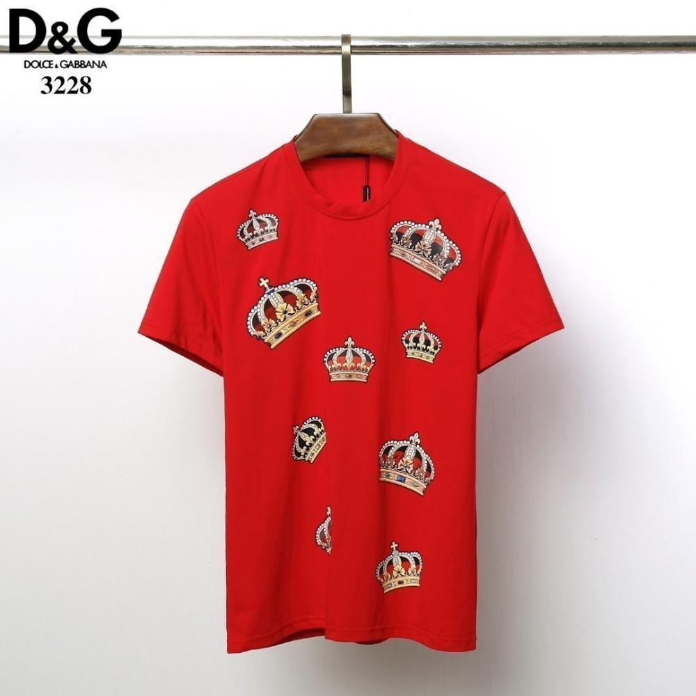 dc2039896 Wholesale 2018 Summer New T-shirt Fashion Print Stars And Stripes ...