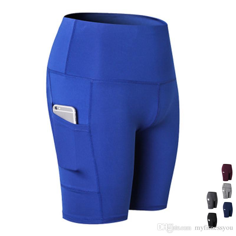 2f51593254 2019 Sexy Yoga Shorts For Women Workout Fitness Gym Short Leggings High  Quality Athletic Outdoor Sport Clothing Ladies Yoga Outfits Plus Size XXL  From ...