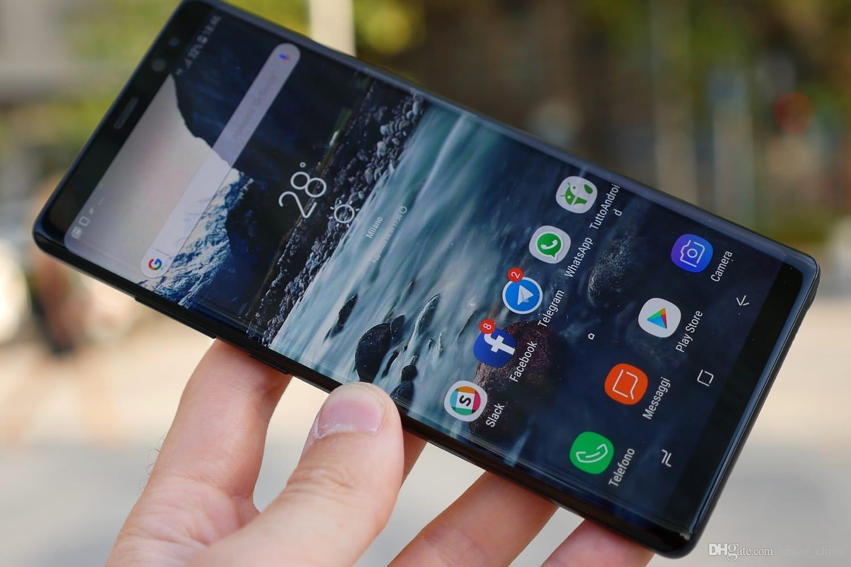 6 2inch Full Screen goophone note 8 n9 clone phone MTK6592 4G RAM 64G ROM  shown 4G LTE android 7 0 smartphone