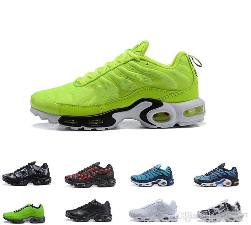 ea7e1f456d7 2019 neue männer Nike Air Max airmax Plus TN Running plus tn ultra se  schwarz weiß blau rosa zapatillas hombre outdoor schuhe im freien tn schuhe  ...