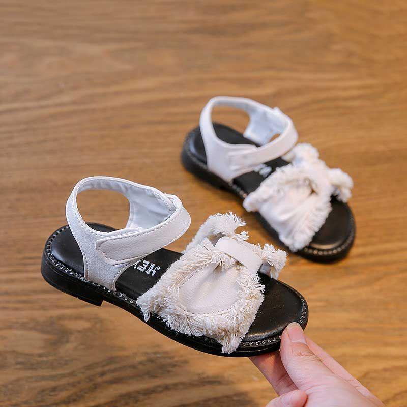 cf8d3c9482 Compre Moda Borla Niñas PU Sandalias Bebé 2019 Verano Niños Playa Zapatos  Niños Sandalias De Tacón Plano Zapato De Bebé # 47 A $13.2 Del  Changcheng1688 ...