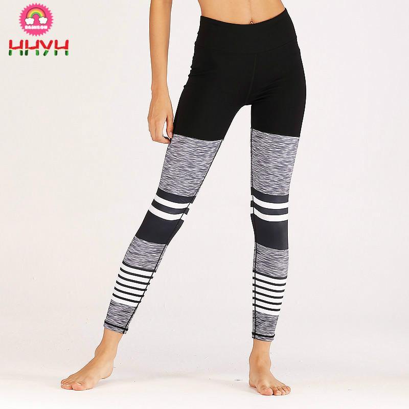 274e7d0cf86c7 2019 Leggings Women Push Up Fitness Leggings Patchwork Elastic ...