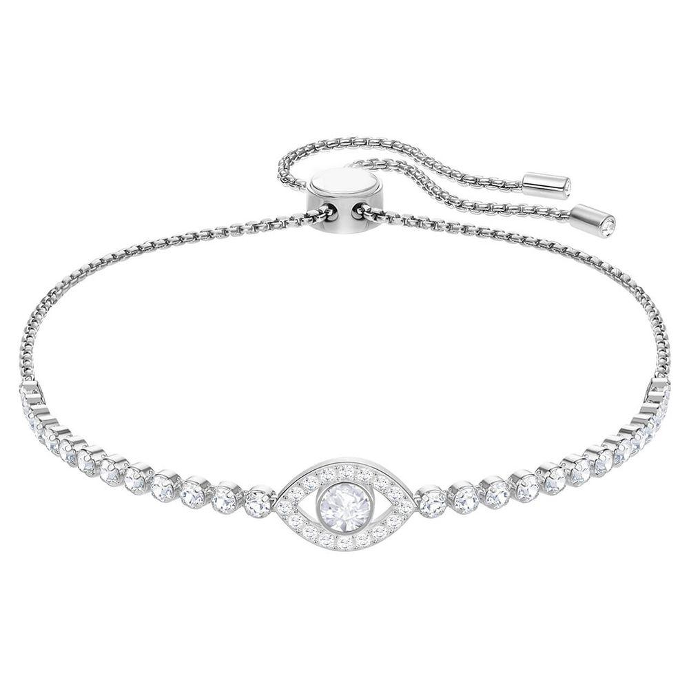09fdbfb03 Swarovski New Bracelet Devil's Eye Shiny Crystal Ladies Adjustable Bracelets  Send Girlfriend Luxury Jewelry Gifts 5368546