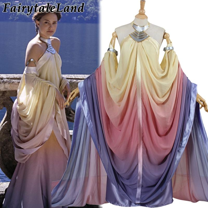 Star Wars Costume Revenge Of The Sith Padme Amidala Lake Dress Star