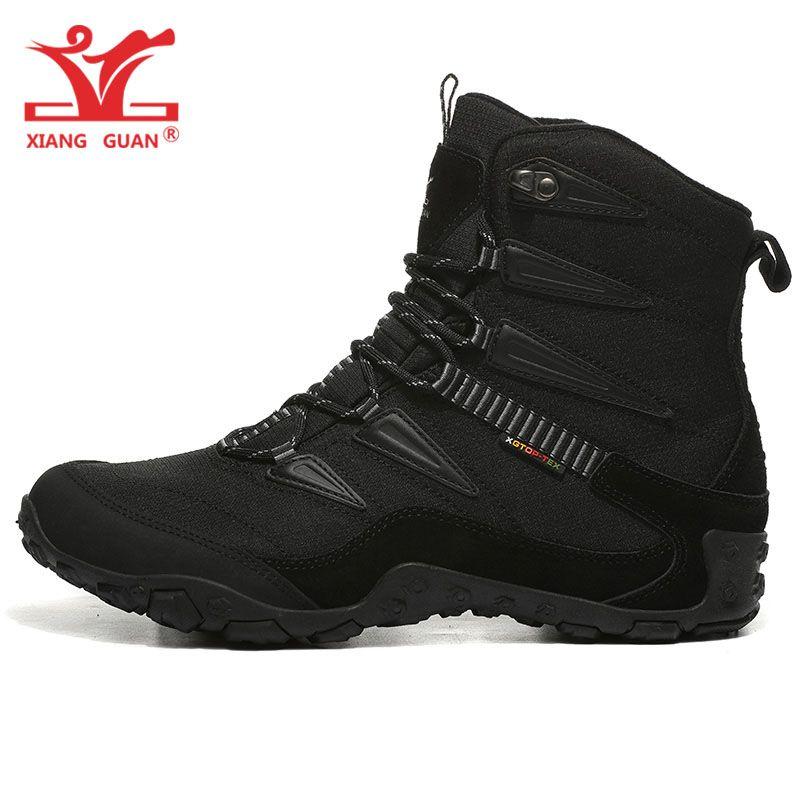 618a55ffad7 Men Hiking Shoes Women Outdoor Camping Tactical Boots Winter Waterproof  Sport Climbing Mountain Hunting Trekking Sneakers 511