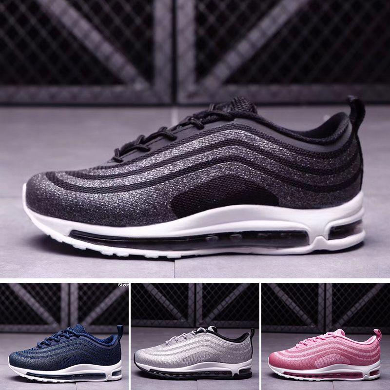 best authentic b2366 8445d Compre Nike Air Max 97 Nuevos Niños 97 Sean Wotherspoon 1 97 VF SW Híbrido  Zapato De Bebé Niño Niña Niños Casual Shoes 28 35 A  90.81 Del Someday shop  ...