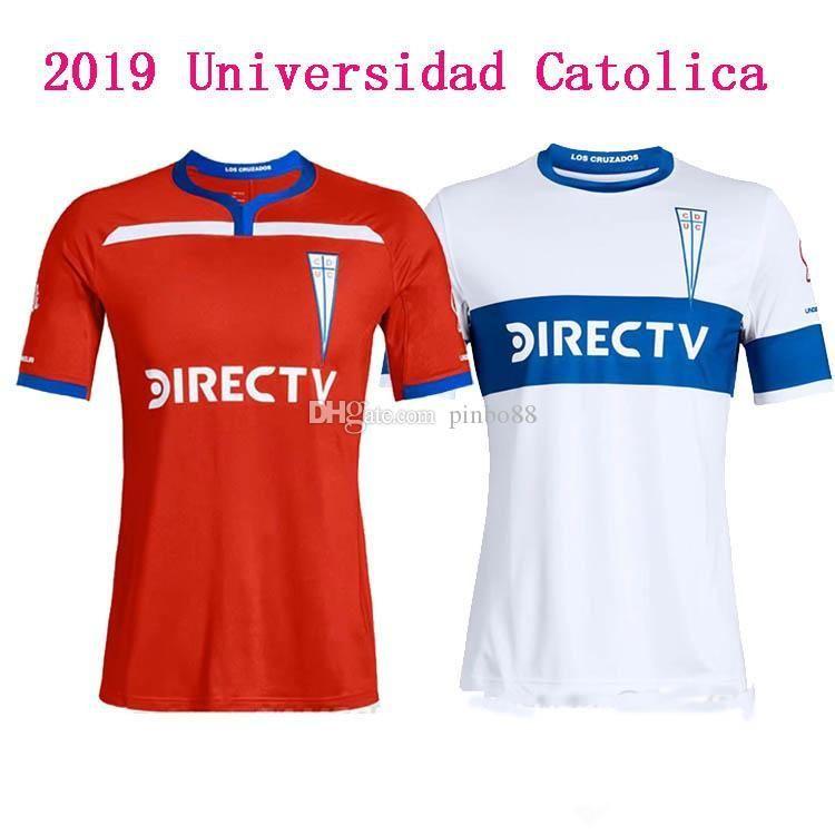 26a622e48eac5 Compre 2019 Universidad Catolica Home Away Jerseys Homem Camisa De Futebol  Jersey 19 20 Camisas Universitárias Jersey Universidade Do Chile Maillot De  Foot ...