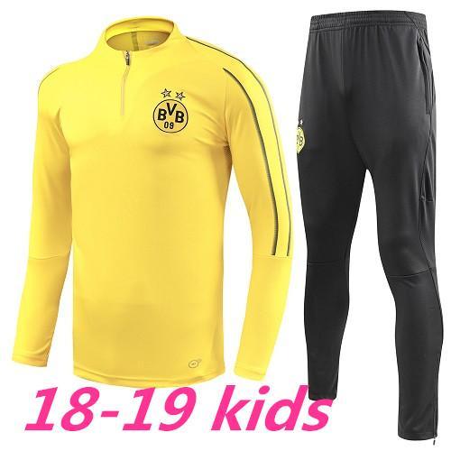 670c421f5 2018 19 New Dortmund KIDS Top Quality Soccer Set AUBAMEYANG GOTZE KAGAWA  PULISIC REUS KIDS Training Suit Borussia Shirts Tracksuit Online with  $63.44/Piece ...