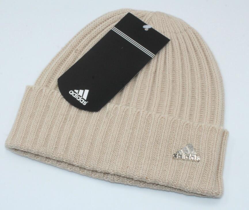 New Men And Women S Winter Beanie Hats Stripes Ski Cap Unisex Knitted Wool Beanies  Hat Bonnet Warm Cap Beanie Cap Watch Cap From Asdfq a41575f6e6d