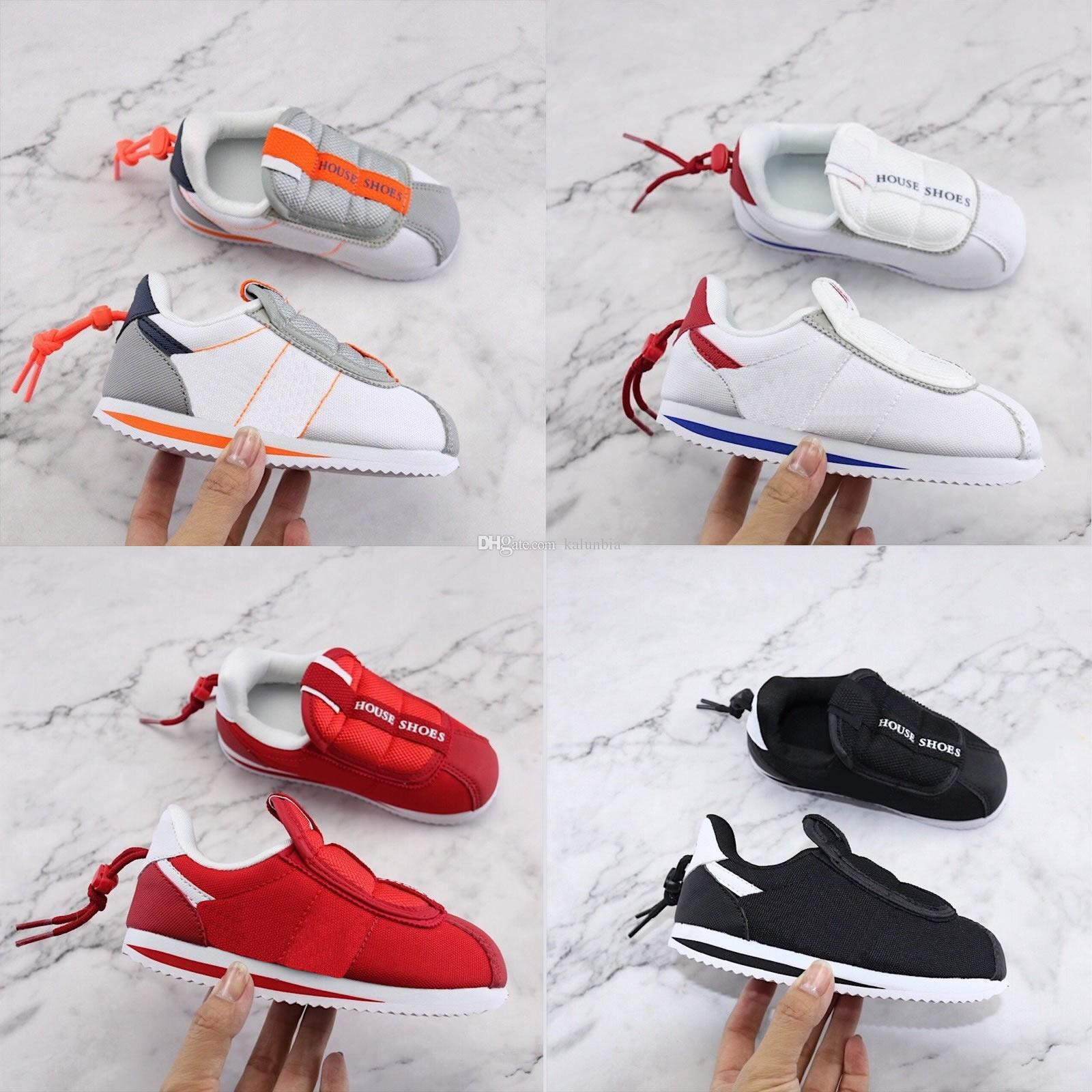 promo code 996b4 da2bd Infant Toddler KENNY IV 4 House Shoes Kendrick Lamar Cortez Basic Slip Kids  Boys Girls Youth Childrens Running Shoes EUR 22-35 US 6C-3Y