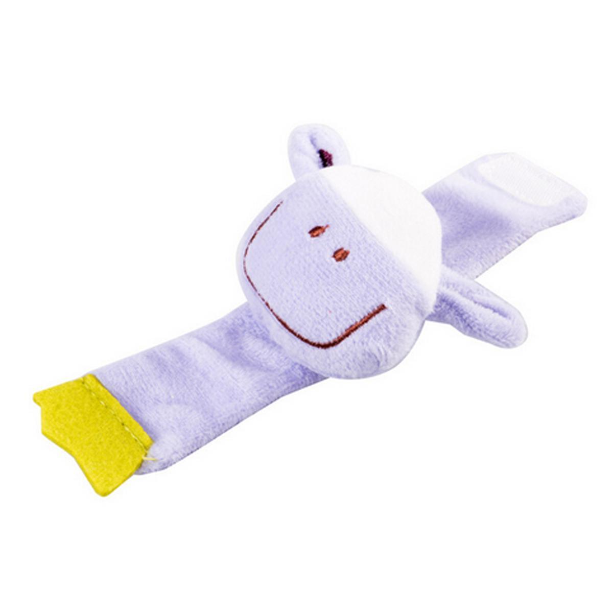 Suave linda animales Sonajeros Juguetes para niños del niño del bebé de la felpa de la muñeca del bebé confunde el juguete de muñeca de la mano abeja 2019