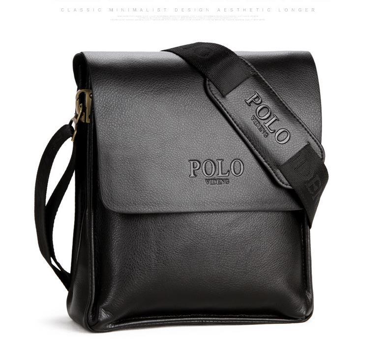 64028e9d1544 Designer Famous Brand Leather Men Bag Briefcase Casual Business ...