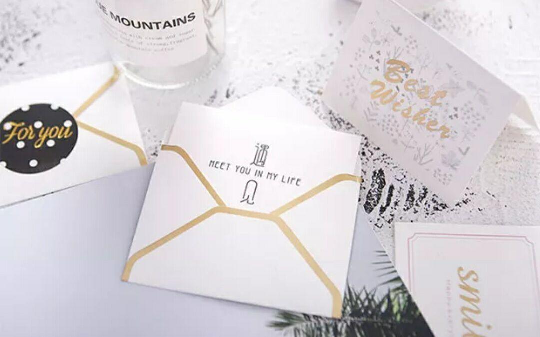 korean creative card business birthday greetings thanksgiving