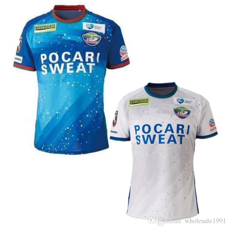 J League Football Shirts: 2019 2019/20 Tokushima Vortis Soccer Jerseys J League
