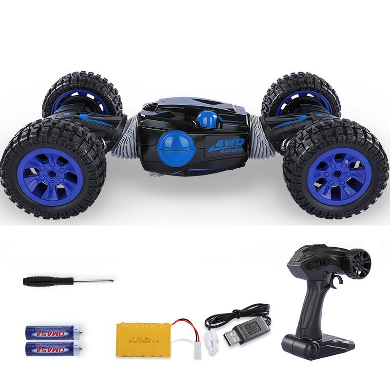 High-speed wireless remote control four-wheel drive off-road vehicle drift deformation car twist car rechargeable children's toy car