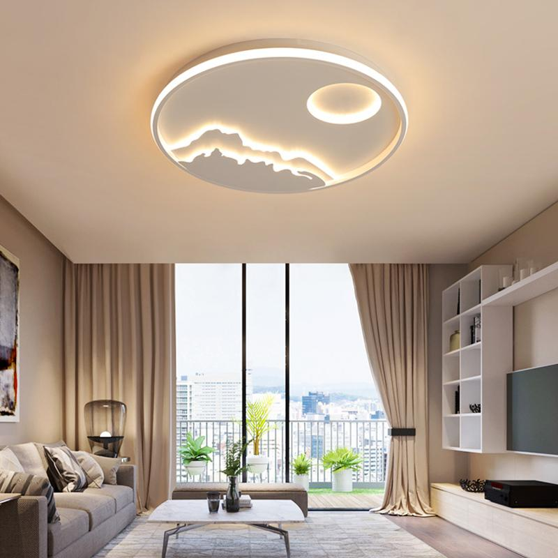 Awesome 2019 New Design Round LED Ceiling Lights For Living Room Bedroom Dining  Room Modern LED Ceiling Lamp Lamparas De Techo AC90 260V From Lightlight,  ...