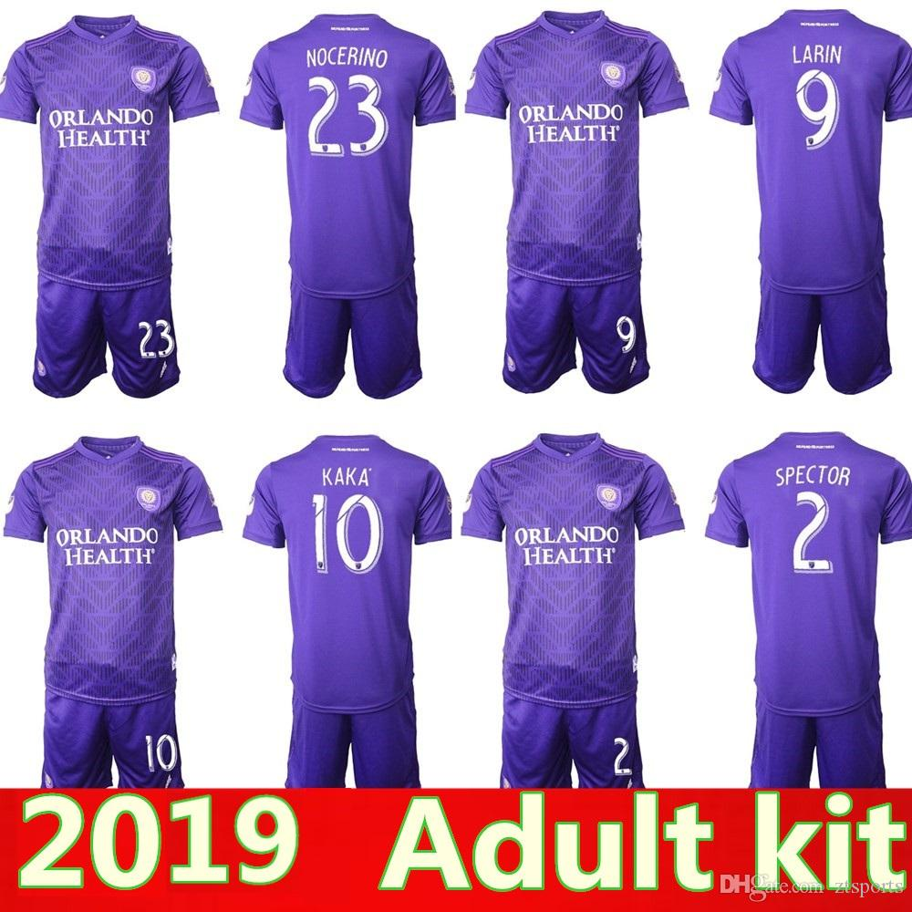 new concept f3f93 8d2db 2019 MLS Men Orlando City Soccer Jerseys Kit NANI Orlando City Home purple  Soccer Shirt 2019 #8 J.MENDEZ adult Football Uniform